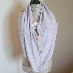 NWT Lululemon Vinyasa Scarf Reversible Light Grey